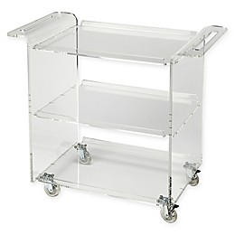 Butler Specialty Company Crystal Bar Cart