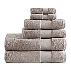 Madison Park Signature Turkish Cotton Bath Towels in Taupe (Set of 6)