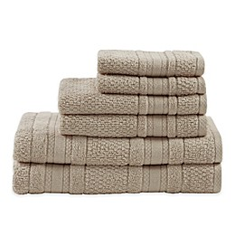 Madison Park Essentials Adrien Bath Towels (Set of 6)