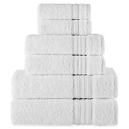 Laural Home Spa Collection 6-Piece Bath Towel Set
