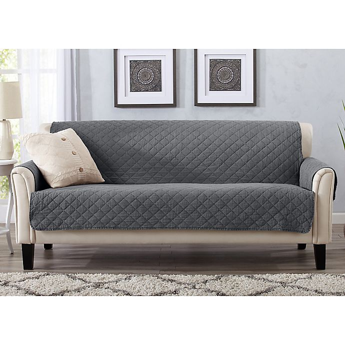 Outstanding Great Bay Home Laurina Sofa Cover Bed Bath Beyond Gmtry Best Dining Table And Chair Ideas Images Gmtryco