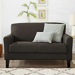 Great Bay Home Dawson Twill Loveseat Slipcover