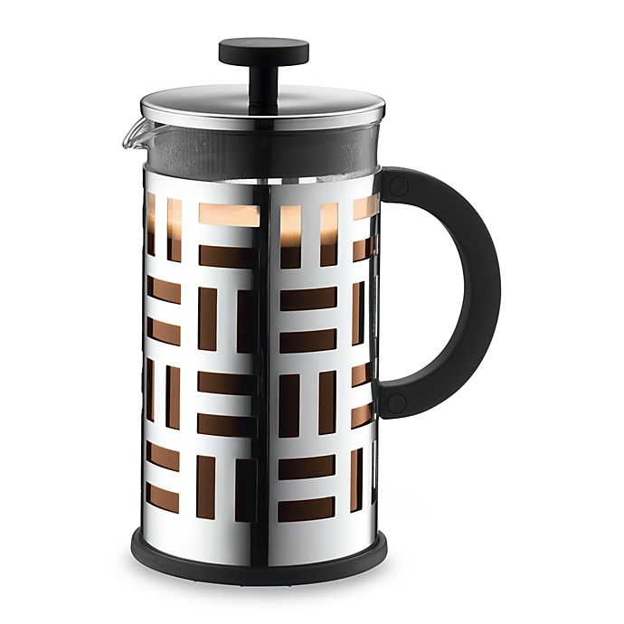 Alternate image 1 for Bodum® Eileen 8-Cup French Press Coffee Maker in Chrome