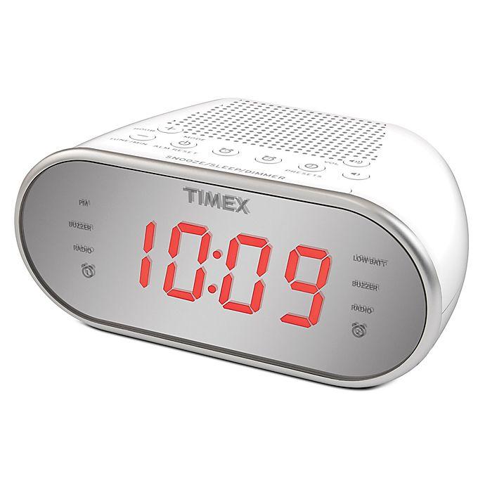 Alternate image 1 for Timex® Dual Alarm AM/FM Clock Radio