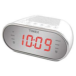 Timex® Dual Alarm AM/FM Clock Radio