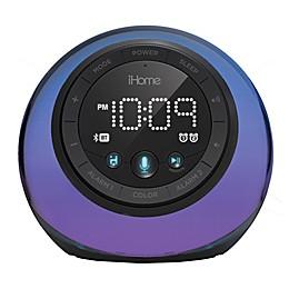 iHome® Color Changing Dual Alarm Clock Radio in Black