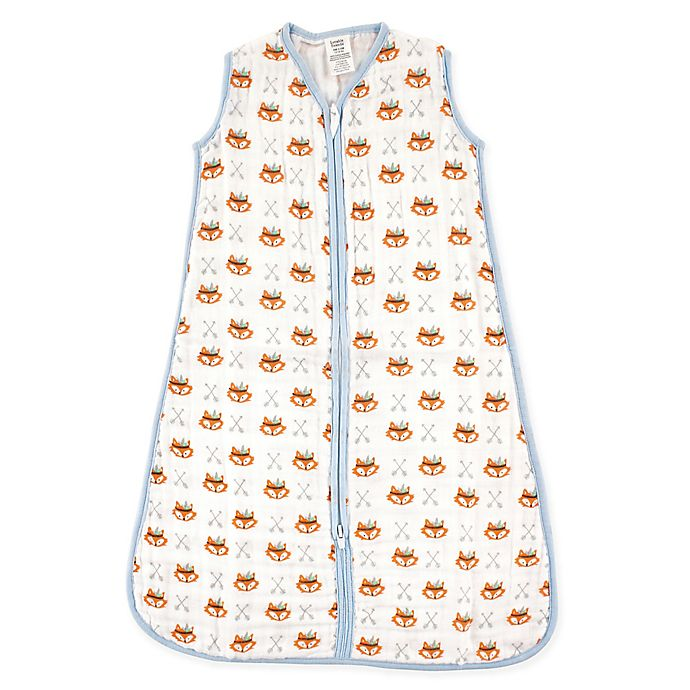 Alternate image 1 for Luvable Friends® Size 18-24M Fox Muslin Sleeping Bag