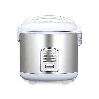 Oyama Model CFS-F18W 10-Cup Stainless Steel Rice Cooker/Warmer/Steamer