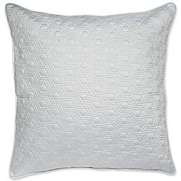 Charisma® Ethienne European Pillow Sham in Grey
