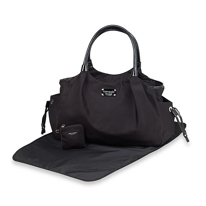 Kate Spade New York Stevie Black Diaper Bag