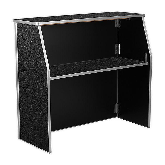 Flash Furniture 4 Foot Laminate Folding Portable Bar