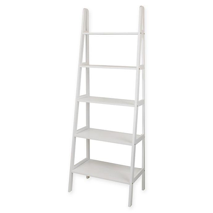 Alternate image 1 for 5-Shelf Ladder Bookcase