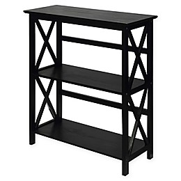 Casual Home® Montego 3-Shelf Bookcase