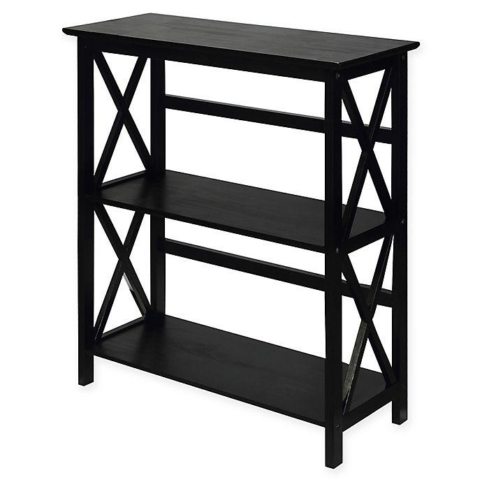 Alternate image 1 for Casual Home® Montego 3-Shelf Bookcase