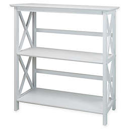 Casual Home® Montego 3-Shelf Bookcase in White