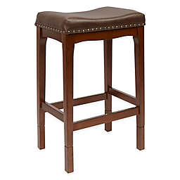 Wythe Collection Adjustable Faux Leather Upholstered Stool