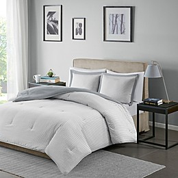 Madison Park Essentials Hayden Reversible Down Alternative Comforter Set