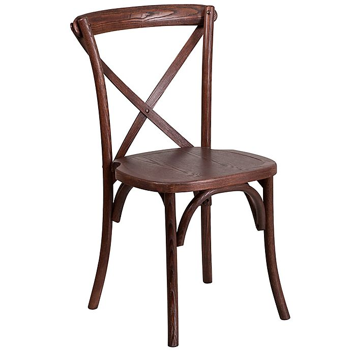 Alternate image 1 for Flash Furniture Cross Back Chair
