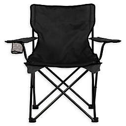 TravelChair® Company Easy Rider C-Series Folding Camp Chair in Black