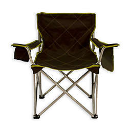 TravelChair® Company Big Kahuna Foldable Lawn Chair in Brown/Lime