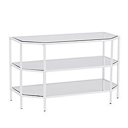 Southern Enterprises Kendrick TV Stand in White