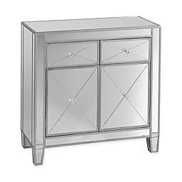 Southern Enterprises Mirage Mirrored Cabinet