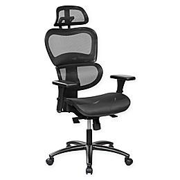 Techni Mobili High Back Mesh Executive Chair in Black