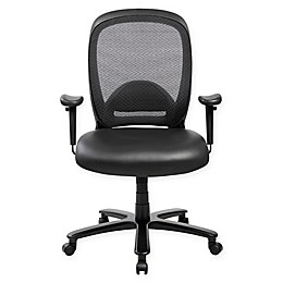 Techni Mobili Faux Leather Upholstered Office Chair