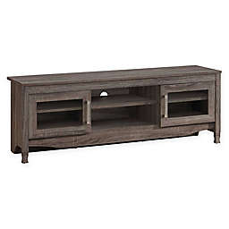 Techni Mobili Driftwood TV Stand in Grey