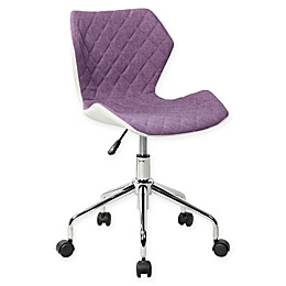 Purple Office Chair Bed Bath Beyond