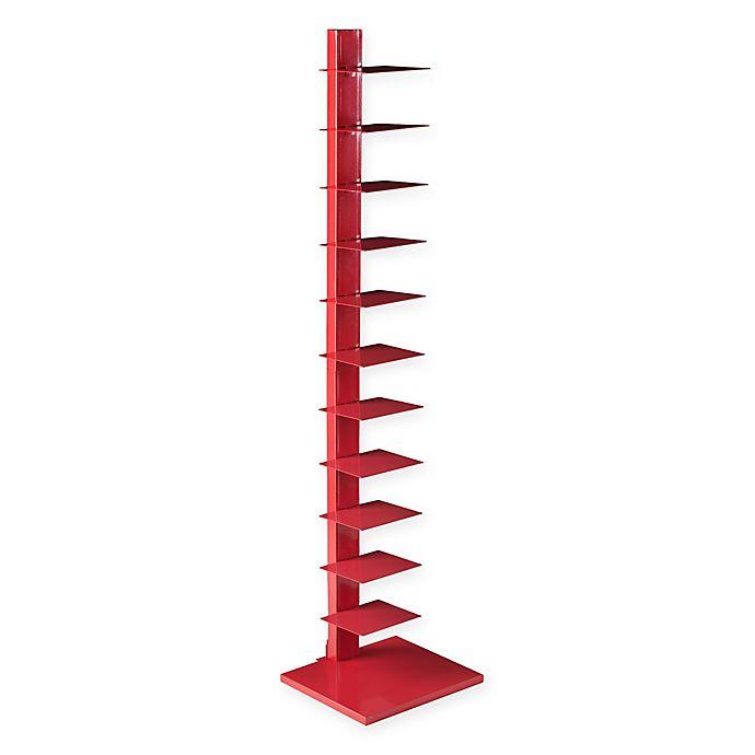 Alternate image 1 for Southern Enterprises Spine Tower in Poppy