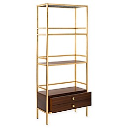 Safavieh Mateo 4 Tier 1 Drawer Etagere