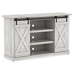 Bell'O® Cottonwood Two-Toned TV Stand