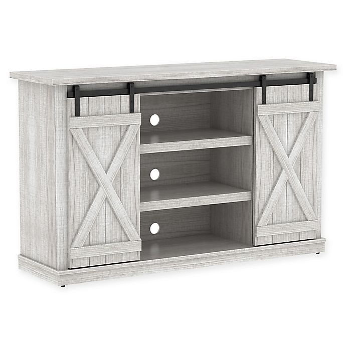Bell O Cottonwood Two Toned Tv Stand Bed Bath Beyond