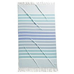 Kassatex® Bodrum Fouta Terry Beach Towel