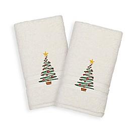 Linum Home Textiles Denzi Hand Towels (Set of 2)