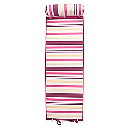 Rolled Striped Beach Mat