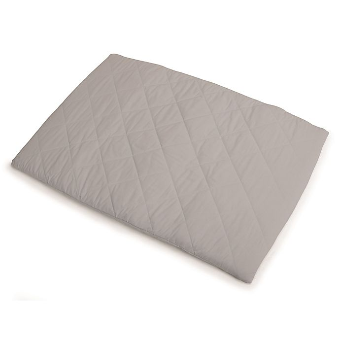 Alternate image 1 for Graco® Pack 'n Play® Playard Quilted Sheet in Grey