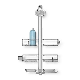 simplehuman® Stainless Steel XL Adjustable Shower Caddy