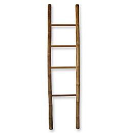Bamboo/Teak Ladder Towel Rack