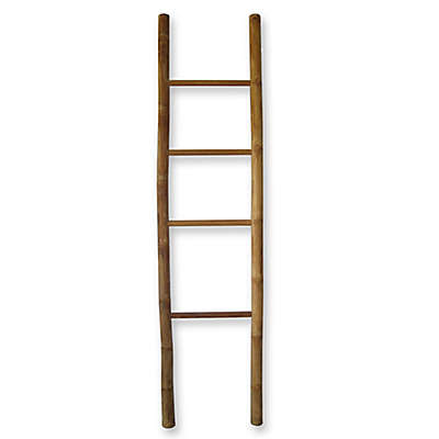 Bamboo/Teak Ladder Towel Rack