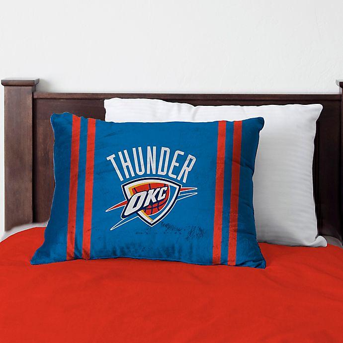 Stupendous Nba Oklahoma City Thunder Bed Pillow Bed Bath Beyond Interior Design Ideas Clesiryabchikinfo