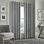 J. Queen New York™ Adorn 84-Inch Grommet Top Embroidered Window Panel in Silver