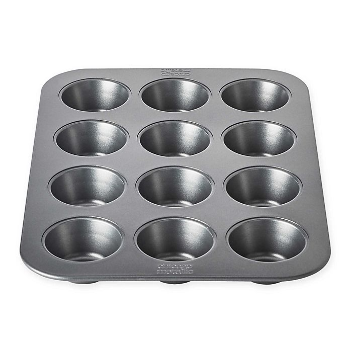 Alternate image 1 for Chicago Metallic™ 12-Cup Nonstick Muffin Pan with Armor-Glide Coating