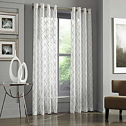 J. Queen New York™ Adorn Grommet Top Embroidered Window Panel