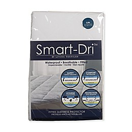 Living Textiles Baby Smart-Dri™ Crib Mattress Protector Cover