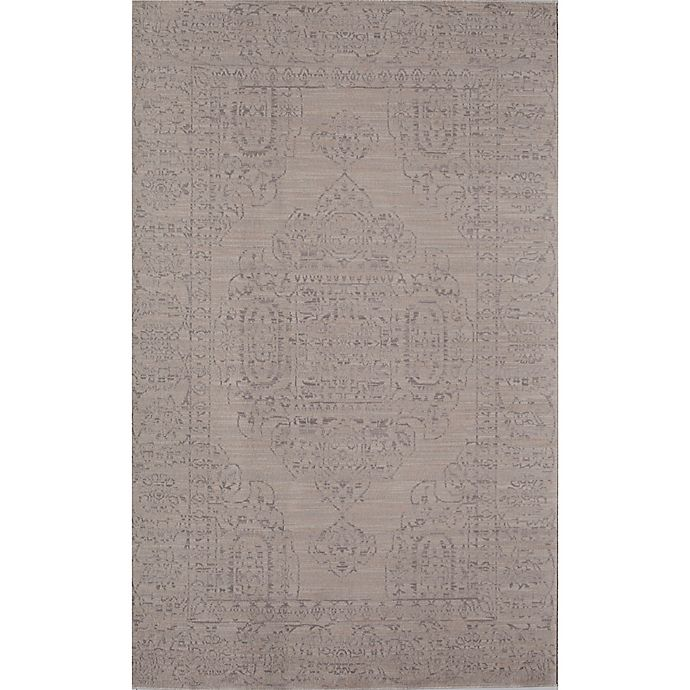 Alternate image 1 for Rugs America Wilshire Medallion 2' x 4' Accent Rug in Ivory