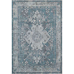 Rugs America Beverly 7'10 x 9'10 Area Rug in Blue