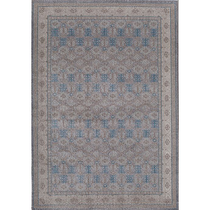 Alternate image 1 for Rugs America Estelle Loomed 2' x 3' Area Rug in Grey/Ivory