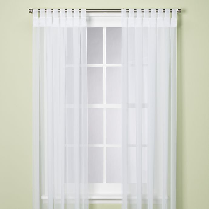 Alternate image 1 for Escape Light Filtering Tab Top Indoor/Outdoor Curtain Panel